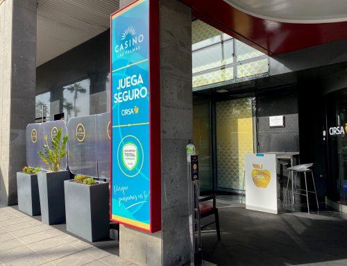 Estrenamos terraza en Casino Las Palmas
